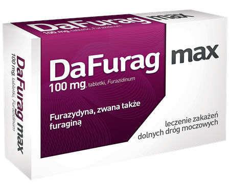 DaFurag Max 100mg x 30 tabletek