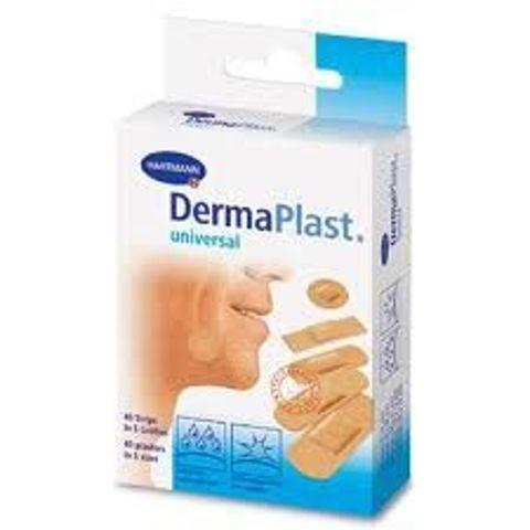 DermaPlast Universal Plastery 5 rozmiarów x 40 sztuk