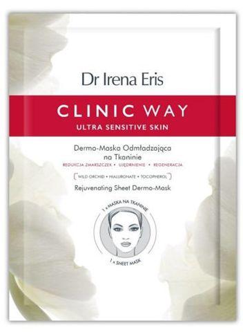 Dr Irena Eris CLINIC WAY Dermo-Maska odmładzająca na tkaninie x 1 sztuka