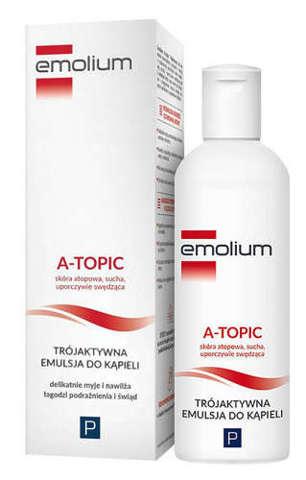 EMOLIUM A-Topic Trójaktywna emulsja do kąpieli 200ml