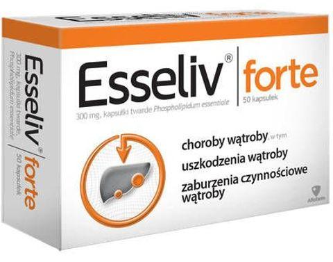 ESSELIV Forte 0,3 x 50 kapsułek