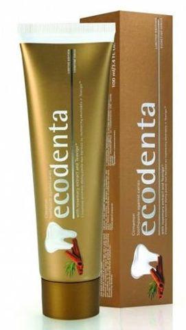 Ecodenta Pasta przeciw próchnicy o zapachu cynamonu 100ml
