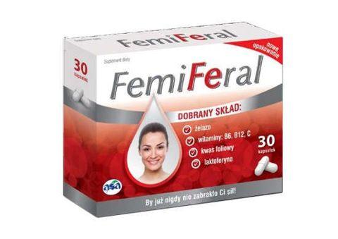 FEMIFERAL x 30 kapsułek