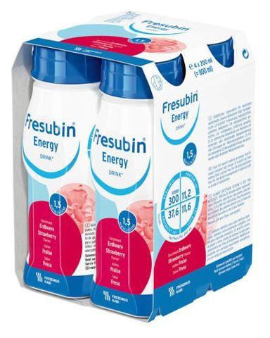 Fresubin Energy Drink smak truskawkowy 4 x 200ml
