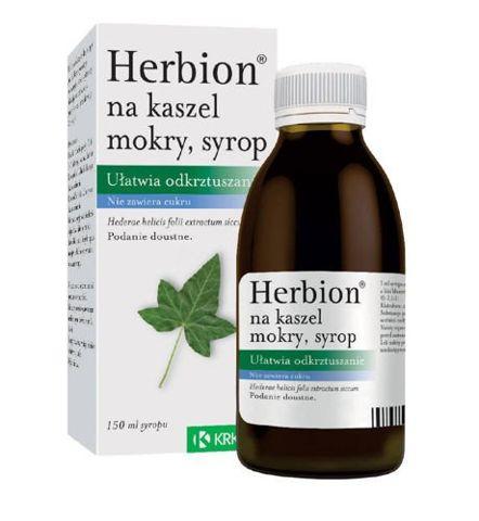 HERBION NA KASZEL MOKRY syrop 150ml - data ważności 30-11-2019