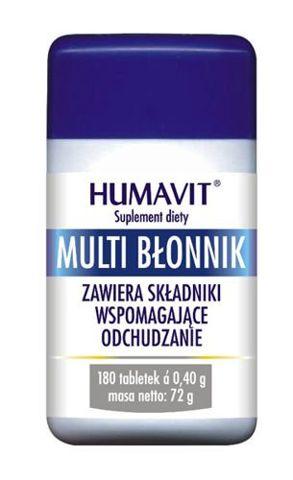 HUMAVIT Multi Błonnik x 180 tabletek
