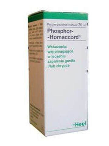 Heel Phosphor-Homaccord krople 30ml