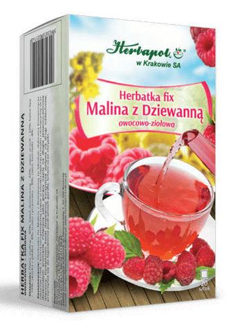 Herbatka fix Malina z dziewanną x 20 saszetek