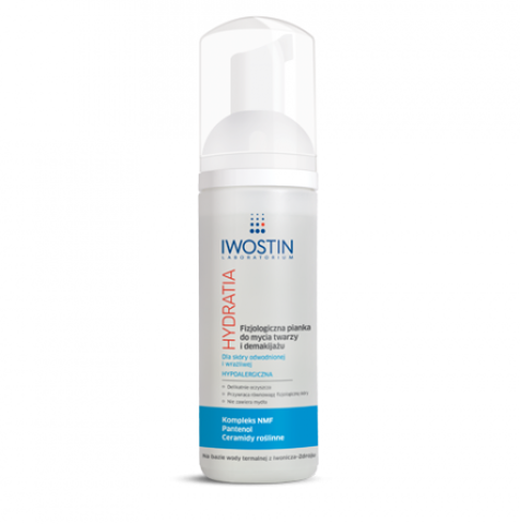 IWOSTIN Hydratia Fizjologiczna pianka do mycia twarzy i demakijażu 165ml