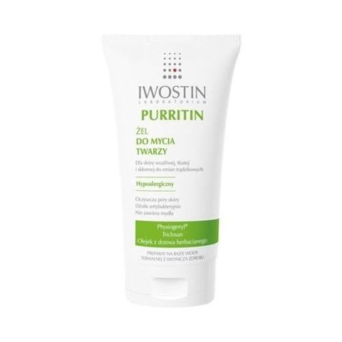 IWOSTIN Purritin żel do mycia twarzy 150 ml