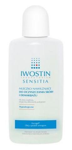 IWOSTIN Sensitia mleczko d/demakijażu 240ml