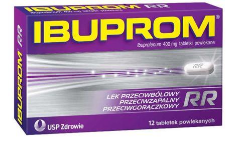 Ibuprom RR 400mg x 12 tabletek