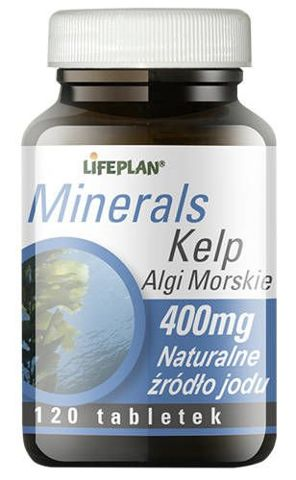 Kelp Algi Morskie 400mg x 120 tabletek