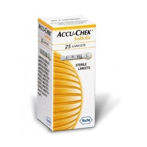 LANCET ACCU-CHEK Softclix x 25 sztuk