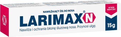 LARIMAX N żel nawilżający do nosa 12g