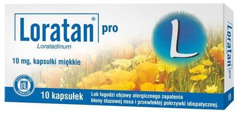 LORATAN Pro 0,01 x 10 kapsułek