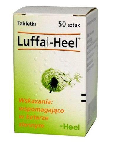 LUFFA-HEEL COMPOSITUM x 50 tabletek