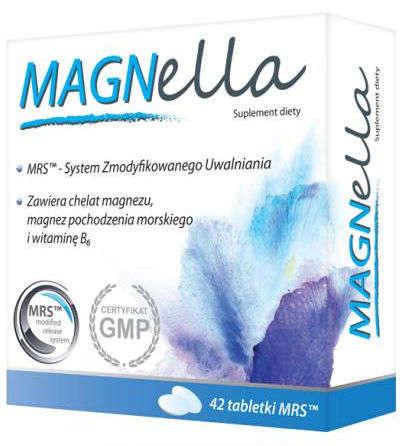 MAGNELLA x 42 tabletki