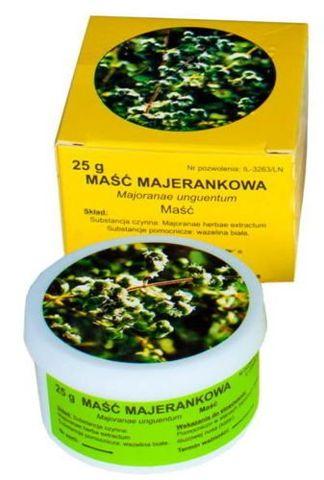 MAŚĆ MAJERANKOWA 25g - data ważności 31-07-2019
