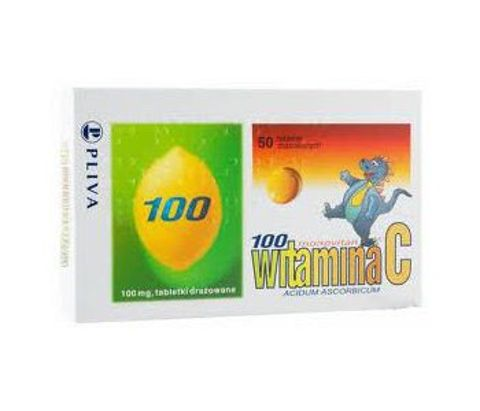 MONOVITAN C 100mg x 50 drażetek
