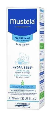 MUSTELA Hydra Bebe krem do twarzy 40ml