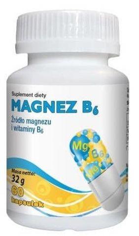 Magnez B6 x 60 kapsułek