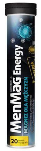 MenMag Energy x 20 tabletek musujących