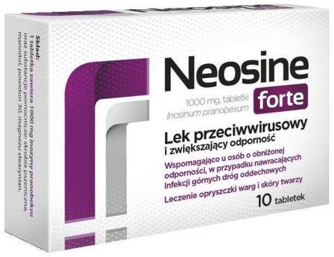 NEOSINE Forte 1g x 10 tabletek