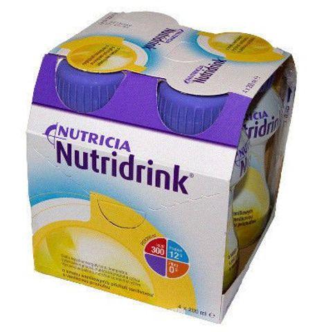 NUTRIDRINK o smaku waniliowym 200ml x 4 sztuki