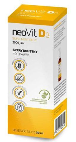 Neovit D3 spray do ust 30ml