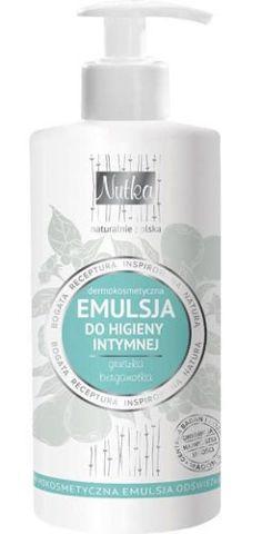 Nutka Dermokosmetyczna emulsja do higieny intymnej gruszka i bergamotka 222ml
