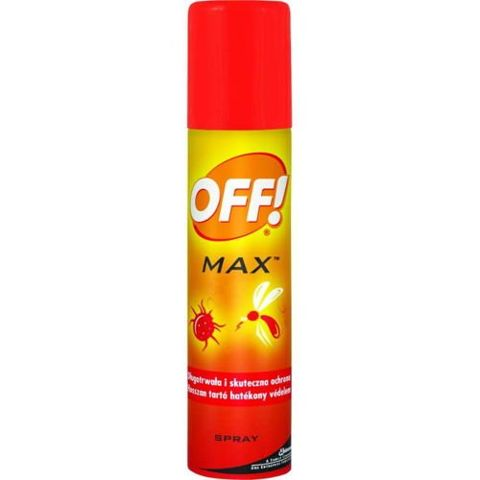 OFF! Max aerozol 100ml