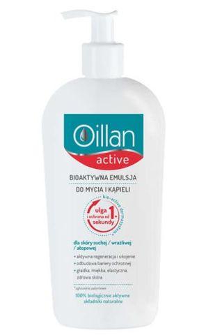 OILLAN Active Bioaktywna emulsja do mycia i kąpieli 400ml