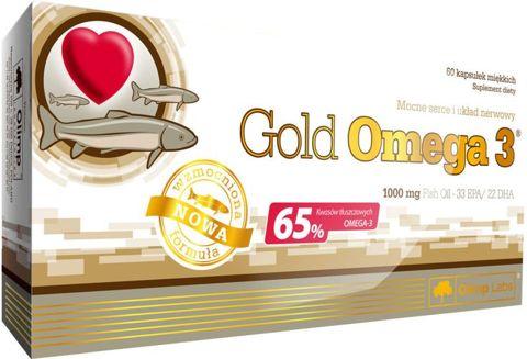 OLIMP Gold Omega 3 - 60 kapsułek