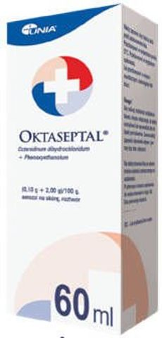 Oktaseptal aerozol na skórę roztwór 60ml