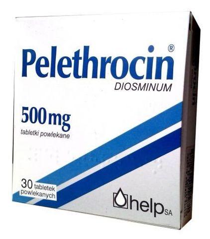 PELETHROCIN 0,5g x 30 tabl