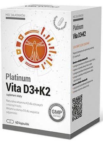 Platinum Vita D3+K2 x 60 kapsułek