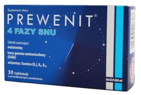 Prewenit 4 Fazy Snu x 30 tabletek