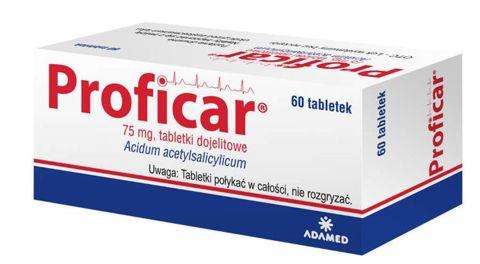 Proficar 75mg x 60 tabletek