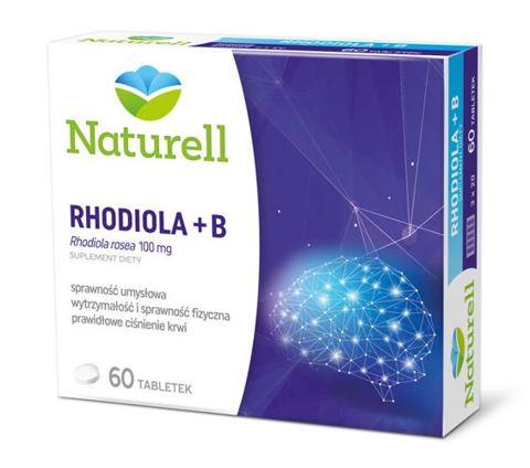 RHODIOLA x 60 tabletek