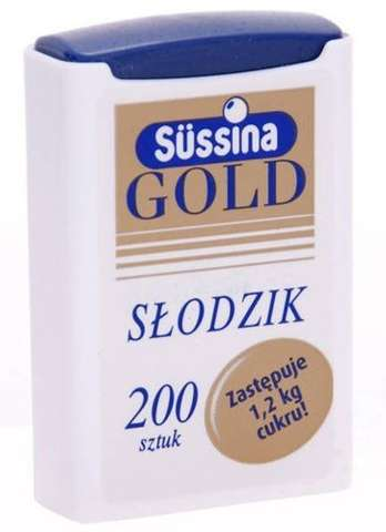 SŁODZIK SUSSINA GOLD x 200 tabletek