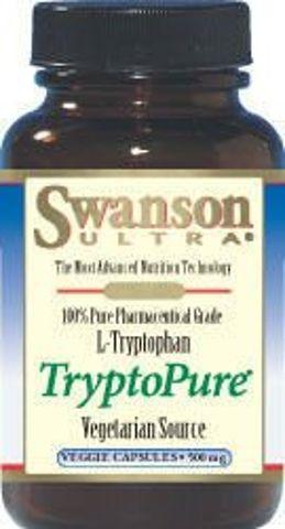 SWANSON AjiPure TryptoPure L-Tryptofan 500mg x 90 kapsułek