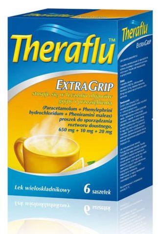 THERAFLU ExtraGrip x 6 saszetek