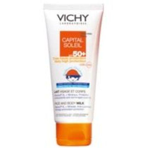 VICHY Capital Soleil SPF30 Mleczko familijne 300ml