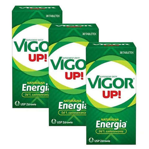 VIGOR UP x 30 tabletek