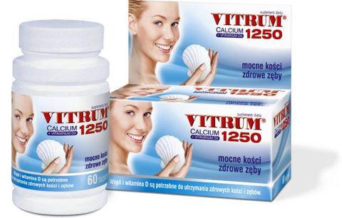 VITRUM Calcium 1250+Vit. D3 x 60 tabletek