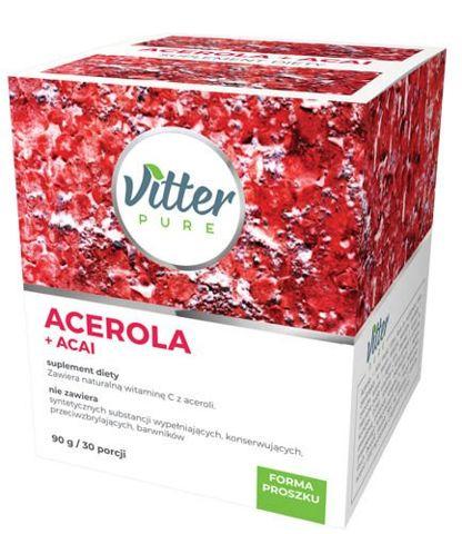 VITTER PURE Acerola+Acai 90g/30 porcji