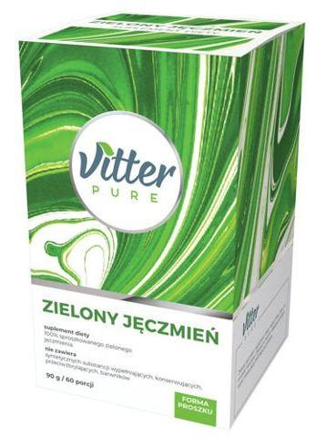 VITTER PURE Zielony jęczmień 90g /60 porcji