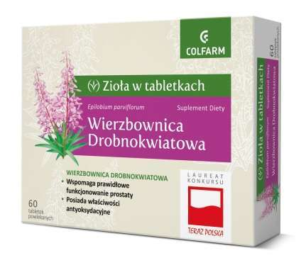 WIERZBOWNICA x 60 tabletek