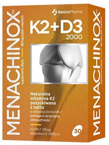 Menachinox K2 + D3 x 30 kapsułek
